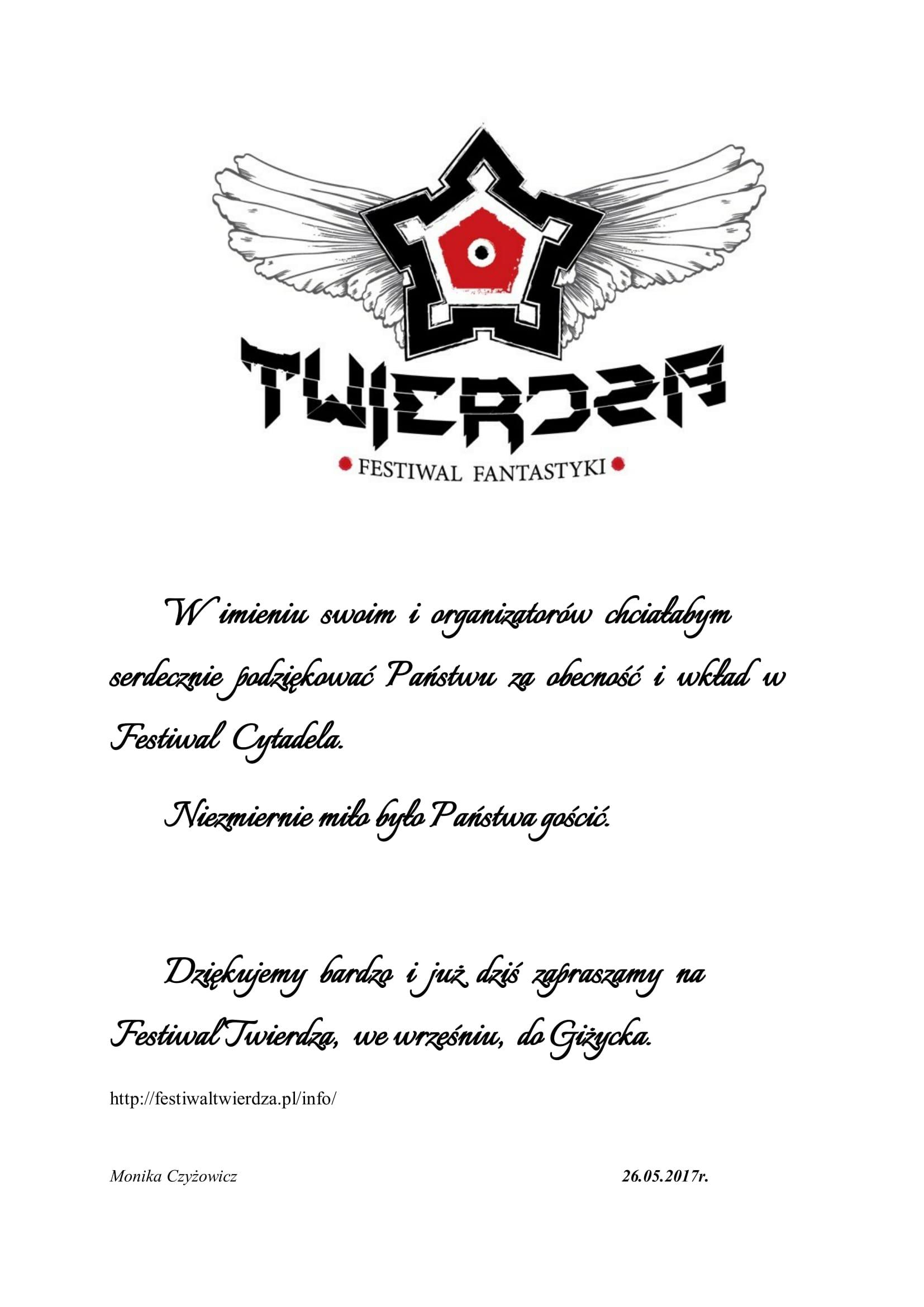 Festiwal Cytadela 2017